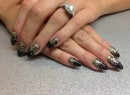 Stilleto Acrylic Nails Perth